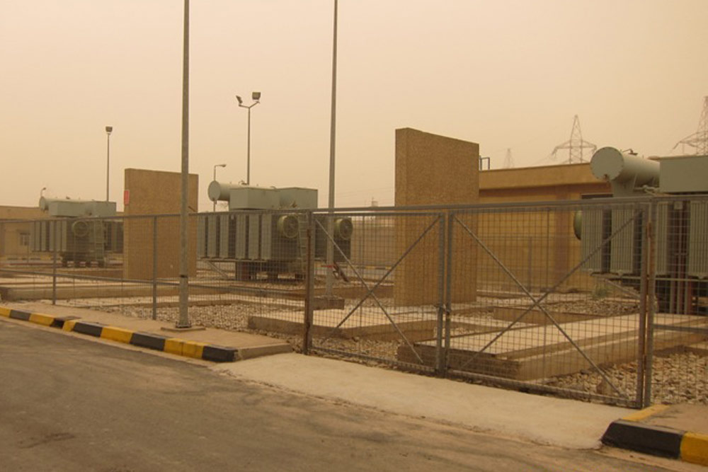 Medium voltage substation - IRAQ